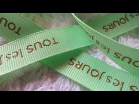 Raised and Puff Screen Ink Printing Ribbons