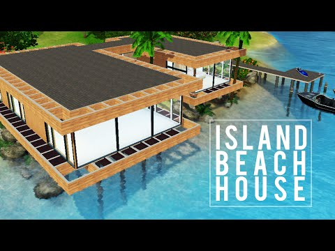 The Sims 3 Speed Build — Island Beach House