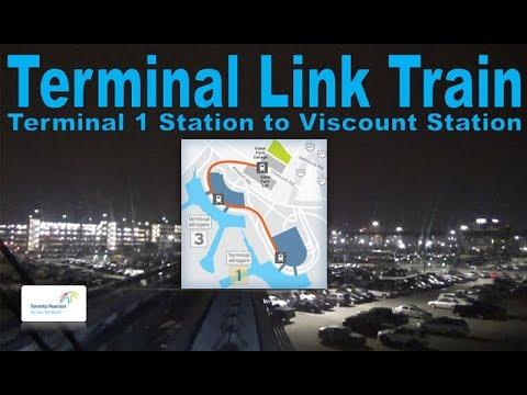 Terminal Link Train - Toronto Pearson Airport 2006 Link Train (Terminal 1 Stn to Viscount Stn)