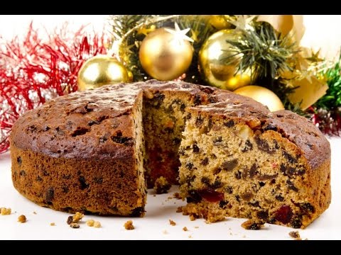 Easy Christmas cake recipe without alcohol