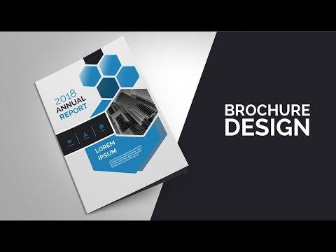 #2 how to design brochure in photoshop cs6  Brochure  Tutorial