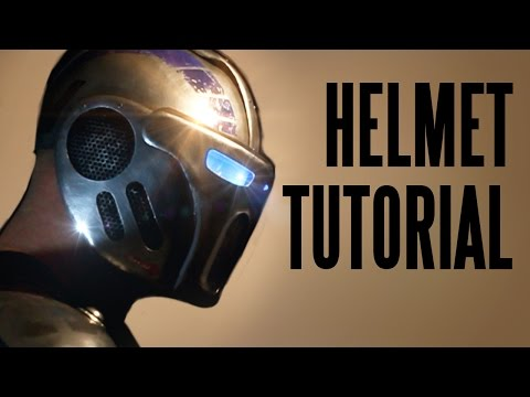Bionic Armor: How to make the helmet