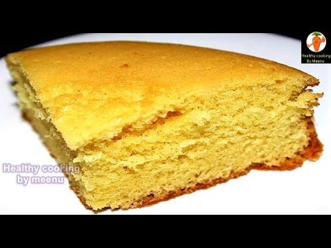 No Oven No Beater Vanilla Sponge Cake | Quick Vanilla Sponge Cake Without Oven