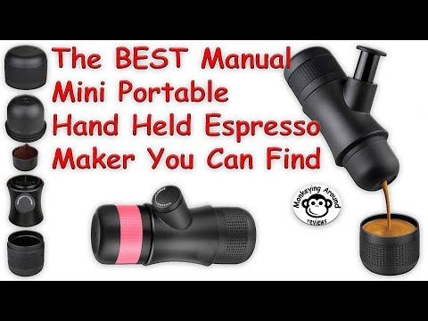 Best Manual Portable Hand Held Espresso Maker by Kaleep review