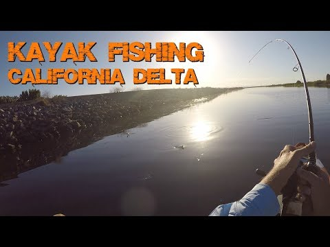 Kayak Fishing The California Delta with Chris, The Guy who Helped me When I Hooked Myself - KastKing