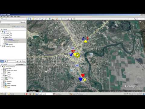 How to create cell file tap using Mapinfo and convert to google earth [Khmer]