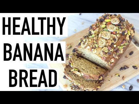 HEALTHY BANANA BREAD! Moist, Gluten & Dairy Free! Cooking With Liv Ep 18