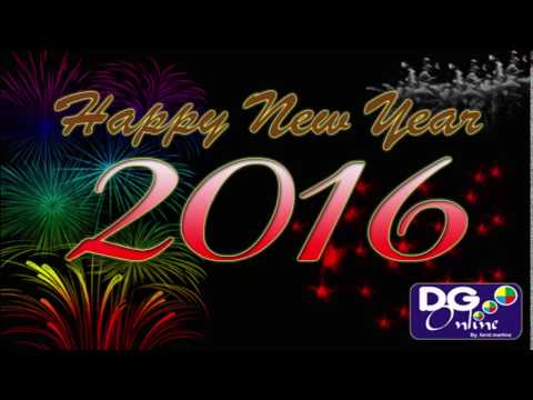 How to make Happy New Year 2016 Wallpaper in Photoshop
