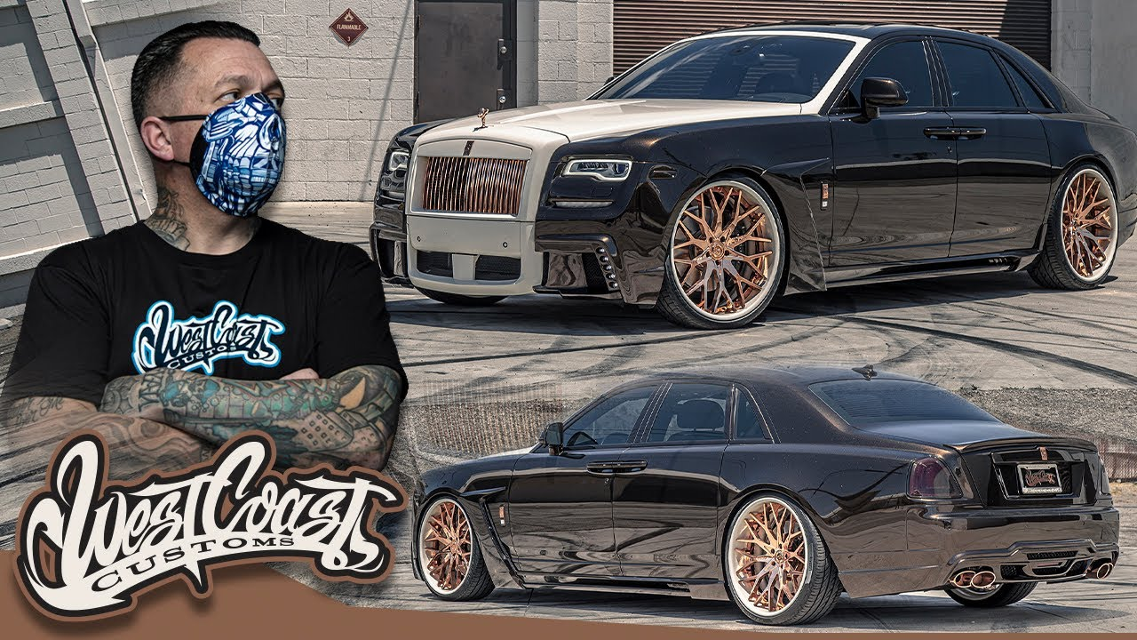 Ryan Transforms His Rolls Royce Ghost | West Coast Customs