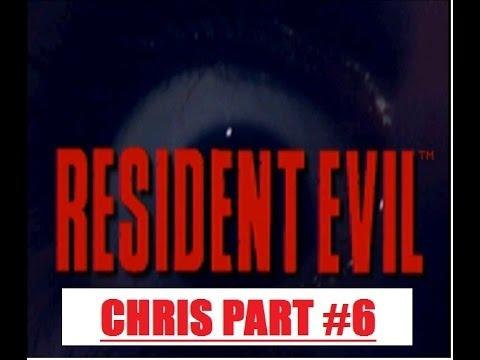 Resident Evil 1 Chris Part6 MA39 CERBERUS