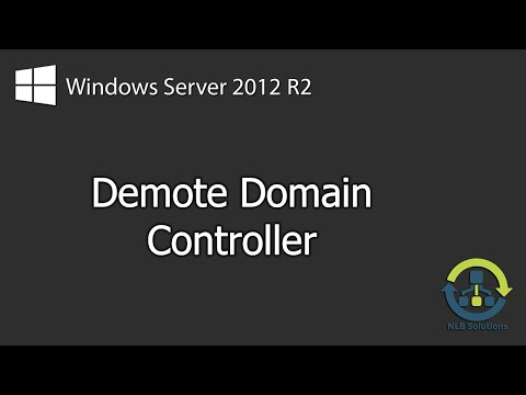 How to demote Windows Server 2012 R2 Domain Controller (Step by Step guide)