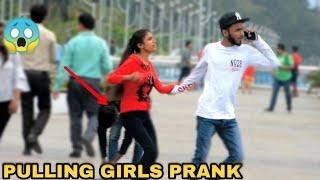 PULLING GIRLS PRANK || PRANK IN INDIA || MOUZ PRANK