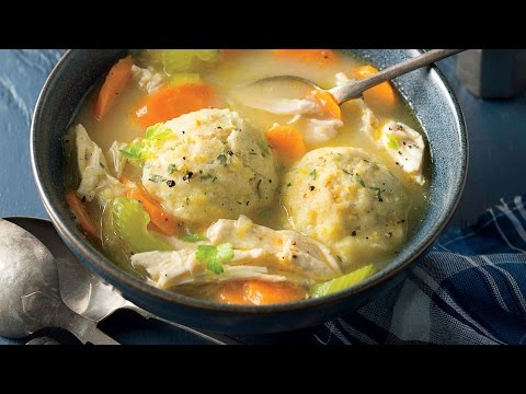 Chicken and Herbed Cornmeal Dumplings | Southern Living