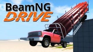 BeamNG.Drive #4 | CRUSHED TO BITS!!