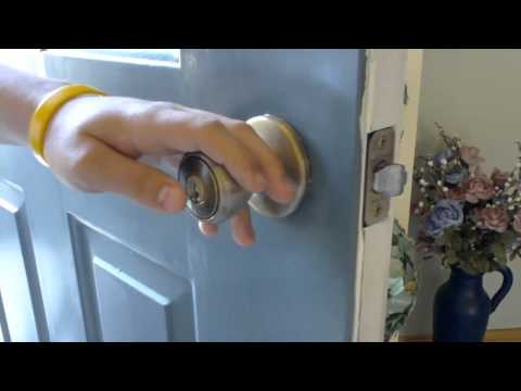 How to: Pick a Kwikset Doorknob Lock