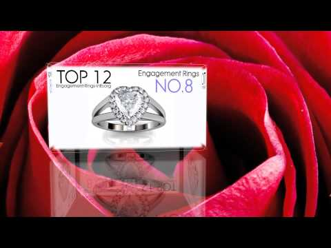 Diamond engagement rings - the best online