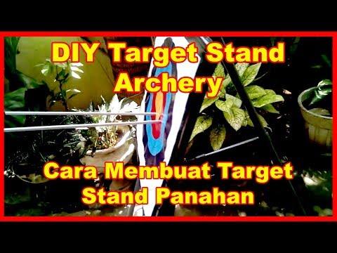 Cara Buat Stand Target Panahan (How to make target stand Archery)