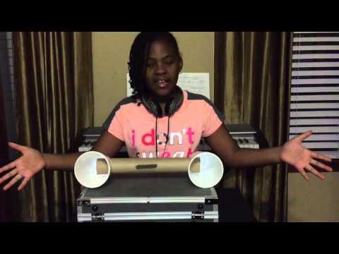 Paper Towel Roll Cell Phone Speaker