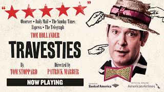 Travesties Now Playing :30 Tv Spot - Roundabout Theatre Company
