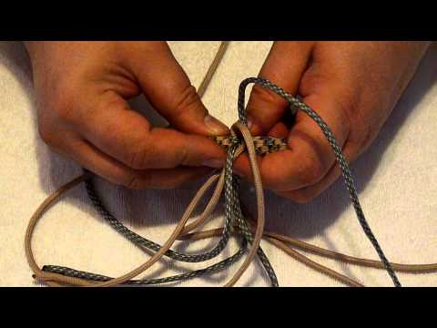 FREE Paracord Project #2 of 8-- Plus Paracord Cross tutorial