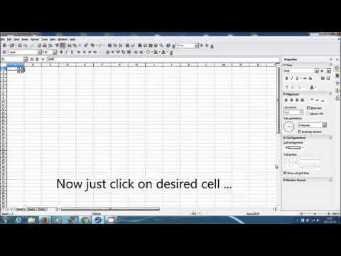 How To Strikethrough A Text In Openoffice Calc Spreadsheet