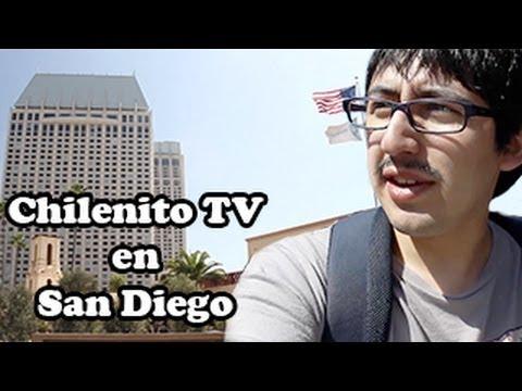 Chilenito TV visitando San Diego
