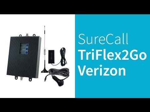 Surecall TriFlex2Go-V 4G LTE Verizon Cell Phone Signal Booster