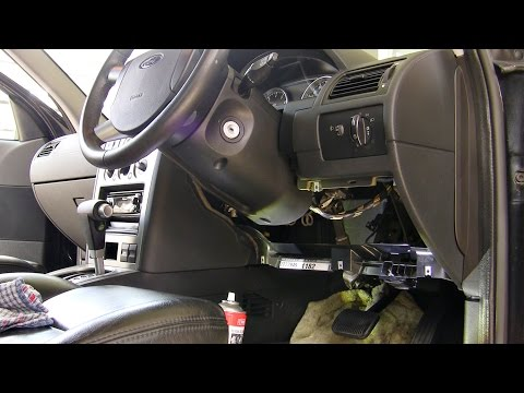 How to: Fix creaks & knocks in steering by regreasing shaft (Ford Mondeo Mk3)