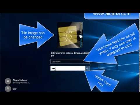 Windows 10 Smartcard Logon with Aloaha Smart Login