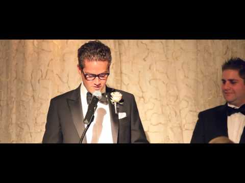How to pull of a double Best Men Speech