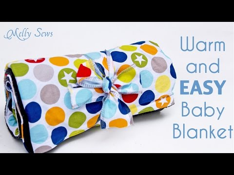 Sew a Warm and EASY Baby Blanket