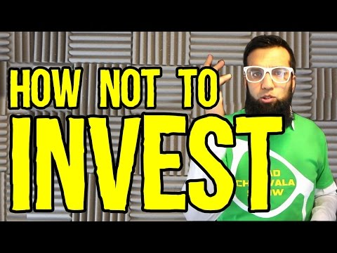 How Not To Invest Money | Stop Making Bad Investments | India Pakistan (Urdu/Hindi)