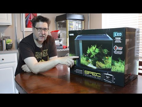 Fluval Spec 16: Unboxing and Setup