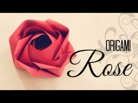 How to make an Origami Rose (Evi Rose, by Evi Binzinger)
