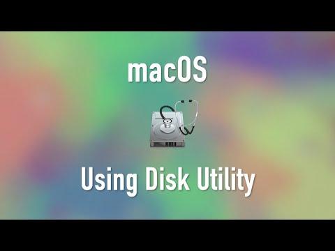 macOS: Disk Utility