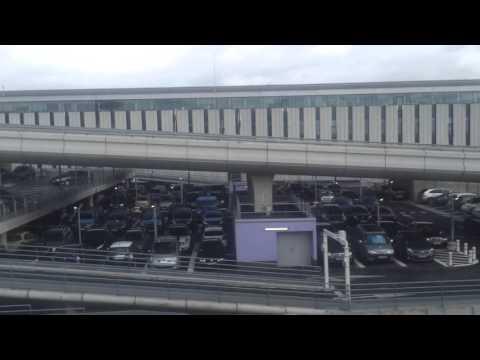 Paris airport terminal trains