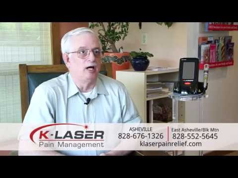 K-Laser Helps Dean Clawson Get Off Pain Medication