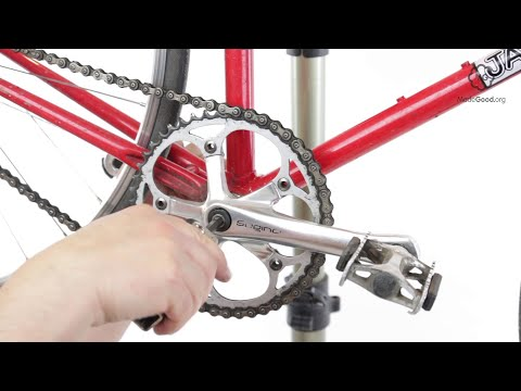 Remove A Bike's Square Tapered Crank