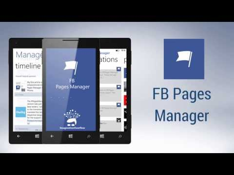 FB Pages Manager for Windows Phone
