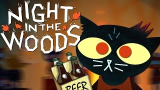 MAE IS A SLOPPY DRUNK | Night in the Woods [2]