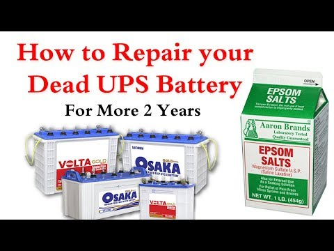How to Repair your Dead UPS Battery at Home Simple & Easy