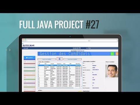 Projet Complet Java Swing#27:Part3: Recherche avancé avec