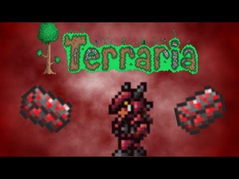 Terraria 1.2 How to make the Crimson armor [EASY]