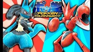 THE MOST INTENSE POKEMON GAME (Pokken)