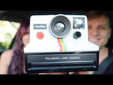 Saturday Garage Sales - We Love Finding Vintage Polaroid Cameras! | RALLI ROOTS