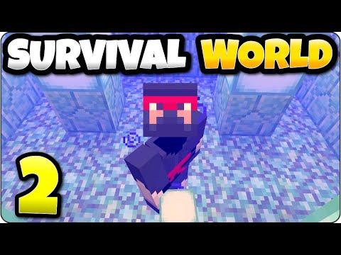 Minecraft Survival World Episode 2 - Sea Lantern Collectors - Playstation 4 Let's Play/ Walkthrough