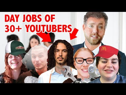 The Day Jobs of 34 YouTubers!