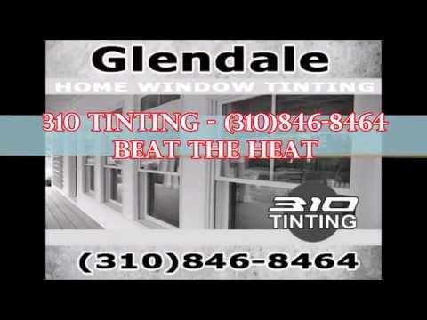 Blackout commercial window tinting glendale