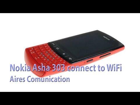 Nokia Asha 303 connect to WiFi