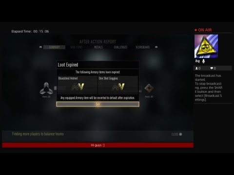 COD Advanced warfare #1 online